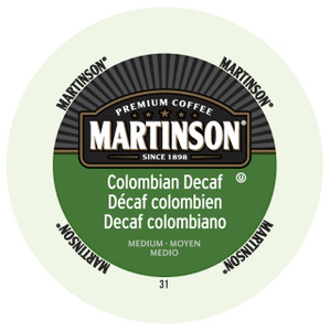 Martinsons Colombian Decaf Coffee Single Serve Cups