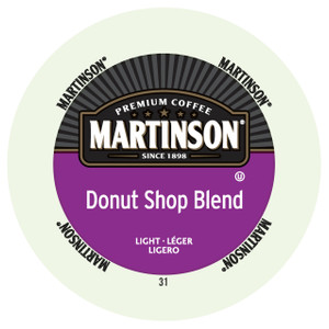 Martinsons Donut Shop Blend Coffee Single Serve Cups