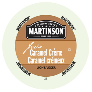 Martinsons Joe's Caramel Crème Flavored Coffee Single Serve Cups