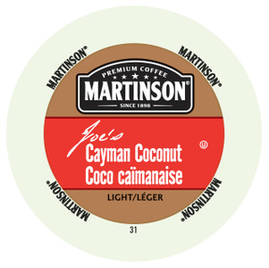 Martinsons Joe's Cayman Coconut Flavored Coffee Single Serve Cup