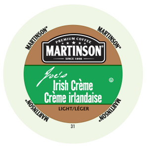 Martinsons Joe's Irish Crème Flavored Coffee Single Serve Cups