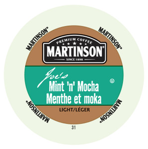 Martinsons Joe's Mint N' Mocha Flavored Coffee Single Serve Cups