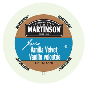 Martinsons Joe's Vanilla Velvet Flavored Coffee Single Serve Cups