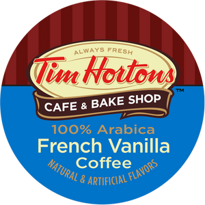 Tim Horton's Coffee French Vanilla Flavored coffee Single Serve Cups