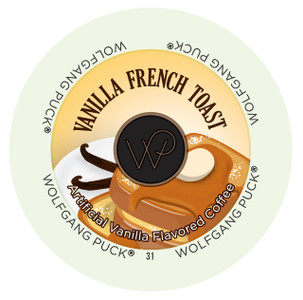 Wolfgang Puck Vanilla French Toast Single Serve Cups