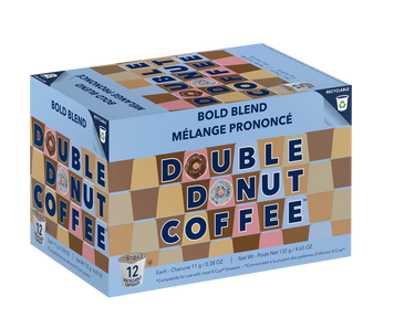 Double Donut Coffee Bold Blend Single Serve Cups