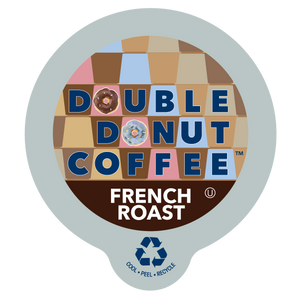 Double Donut Coffee French Blend Single Serve Cups
