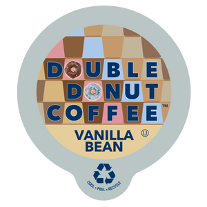 Double Donut Coffee Vanilla Bean Coffee Single Serve Cups