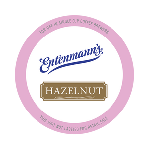 Entenman's Hazelnut Flavored Coffee Single Serve Cups For Keurig K cup Brewer