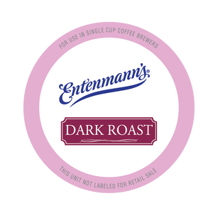 Entenman's Dark Roast Coffee Single Serve Cups For Keurig K cup Brewer