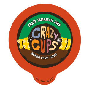 Crazy Cups Crazy Jamaican Java Flavored Coffee Single Serve Cups