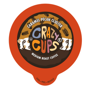 Crazy Cups Caramel Pecan Pie Flavored coffee Single Serve cups