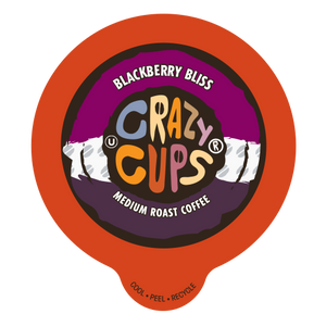Crazy Cups Blackberry Bliss Flavored coffee Single Serve cups