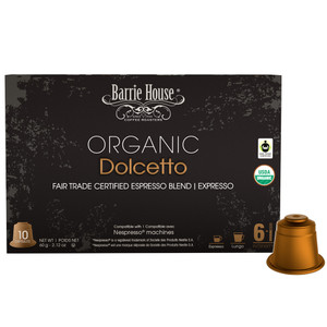 Barrie House Dolcetto Nespresso Compatible Capsules
