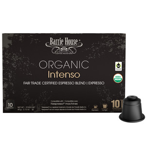 Barrie House Intenso Nespresso Compatible Capsules