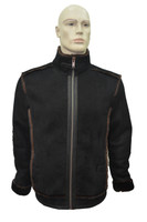 Men's Genuine Shearling Sheepskin Vintage Stylish Winter Jacket - Brown