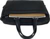Men's Genuine Leather Briefcase Laptop Shoulder Messenger Bag - Black 5
