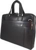 Men's Genuine Leather Briefcase Laptop Shoulder Messenger Bag - Brown 2