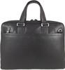 Men's Genuine Leather Briefcase Laptop Shoulder Messenger Bag - Brown 4