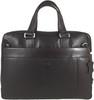 Men's Genuine Leather Briefcase Laptop Shoulder Messenger Bag - Brown 11