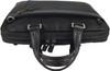 Men's Genuine Leather Briefcase Laptop Shoulder Messenger Bag - Brown 9