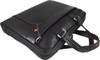 Men's Genuine Leather Briefcase Laptop Shoulder Messenger Bag - Brown 8