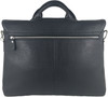 Men's Genuine Leather Shoulder Business Messenger Bag Briefcase Black 4
