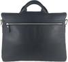 Men's Genuine Leather Shoulder Business Messenger Bag Briefcase Black 4