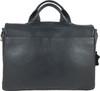 Men's Genuine Leather Briefcase Twin Buckle Shoulder Bag 4