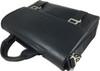 Men's Genuine Leather Briefcase Twin Buckle Shoulder Bag 9