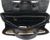 Men's Genuine Leather Briefcase Twin Buckle Shoulder Bag 6