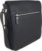 Men's Genuine Leather Small Crossbody Shoulder Messenger Bag - Brown | ZAVELIO 2