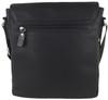 Men's Genuine Leather Small Crossbody Shoulder Messenger Bag - Brown | ZAVELIO 5