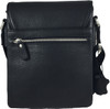 Men's Genuine Leather Small Cross Body Shoulder Messenger Bag | ZAVELIO 4