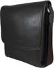 Men's Genuine Leather Medium Cross Body Shoulder Messenger Bag - Brown 2