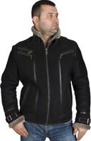 Shearling Sheepskin Leather Fur Jacket