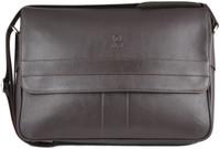 Henry Genuine Leather Business Briefcase Messenger Shoulder Bag - Brown - 2