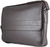 Henry Genuine Leather Business Briefcase Messenger Shoulder Bag - Brown - 3