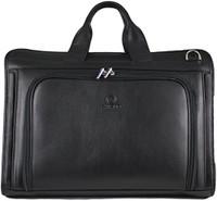 Men's Henrik Luxury Genuine Leather Business Briefcase Messenger Bag Black