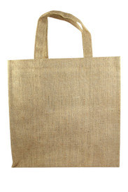 Custom 6 Bottle Jute Tote