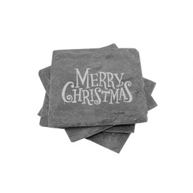 Holiday Slate Coasters (set of 4)