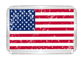 "All American Serving Tray 11""x17"" with Paper Insert"