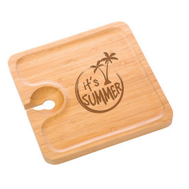 All American Bamboo Party Plate (set of 4)