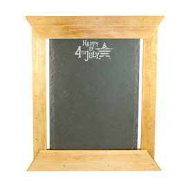 "All American Artisan Slate/Chalk Menu 14""x12"""