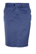 Pre-owned J.Crew  Sailor Cotton Spandex Pencil Skirt (4) Style# 91150