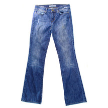 Pre-owned Joe's Muse Denim Low Rise Boot Cut Stretch Jeans 27 X 32