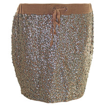 Pre-owned J.Crew COLLECTION SEQUIN DRAWSTRING MINI item 42331 (S) MSRP $298