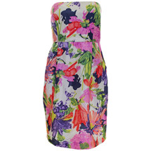 Pre-Owned J. Crew Ella silk dress in garden floral (8)