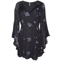 Pre-owned Free People Jasmine Ember Bell Sleeve Mini Dress (6)
