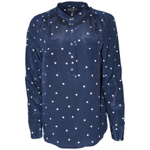 NWT J. Crew Silk Popover Shirt in Polka Dot (8)